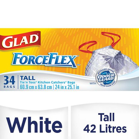 GLAD® ForceFlex® Tie 'n Toss® Tall Bags - image 1 of 2