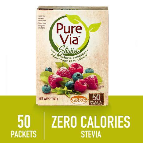 Pure Via Stevia Sweetner 50pk - image 1 of 5