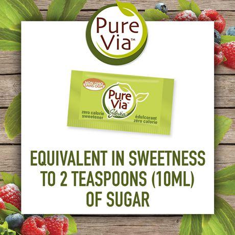 Pure Via Stevia Sweetner 50pk - image 3 of 5