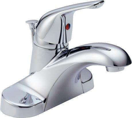 Peerless® Chrome Single Handle Centerset Lavatory Faucet | Walmart ...