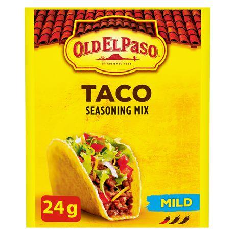 Old El Paso Taco Seasoning Mix Mild - image 1 of 7