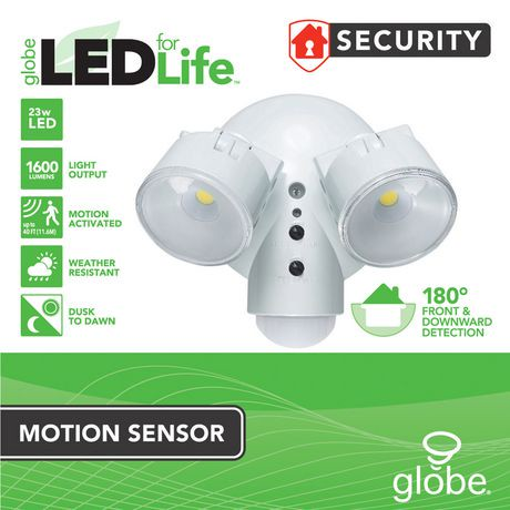 Globe Electric Weather Resistant Dusk To Dawn Adjustable