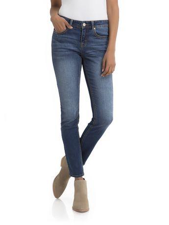 6a6bc83c5e Jordache Women s Mid Rise Curvy Skinny Jean - image 1 ...