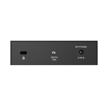 D-Link 5-Port Fast Ethernet Metal Desktop Switch- DES-105 - image 3 of 3