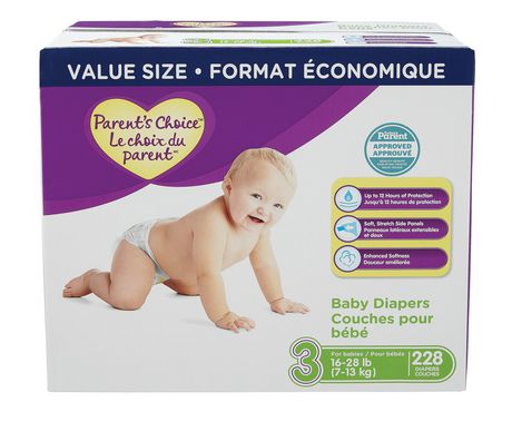 Parent's Choice Unisex Baby Diapers, Value Size Pack - image 1 of 1