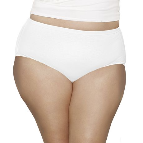 Fruit of the Loom Ladies Fit for Me beyond Soft Briefs, 5-Pack - image 2 of 3