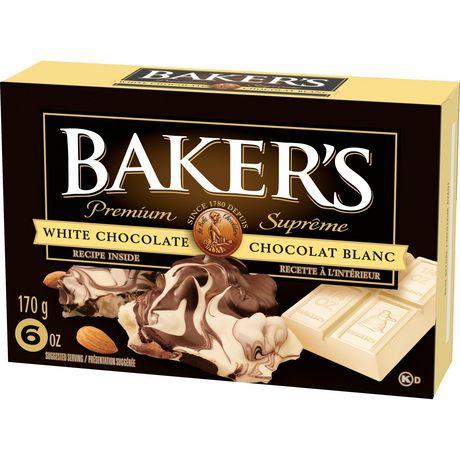 Baker's 100% Pure Premium White Chocolate Baking Bar - image 3 of 4