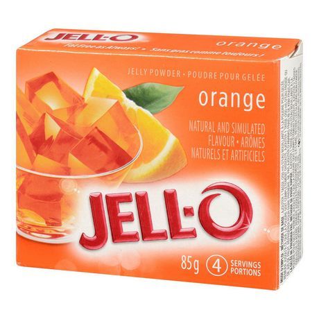 Jell-O Orange Jelly Powder, Gelatin Mix - image 3 of 4
