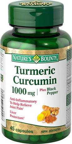 Nature S Bounty Turmeric Curcumin With Black Pepper