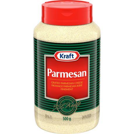 Fromage râpé 100 % parmesan de Kraft - image 1 de 2
