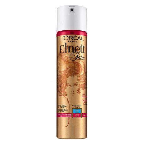 6a14362c34c L'Oreal Paris L'Oréal Paris Elnett Satin Strong Hold Hairspray - image ...