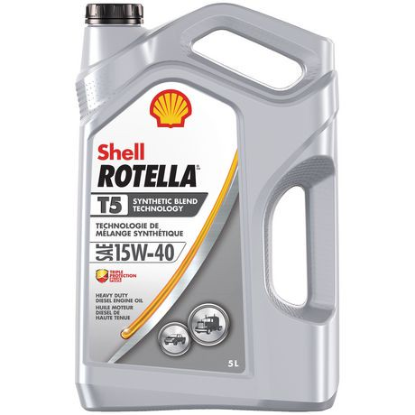 shell rotella t5 15w40 diesel engine oil walmart canada. Black Bedroom Furniture Sets. Home Design Ideas