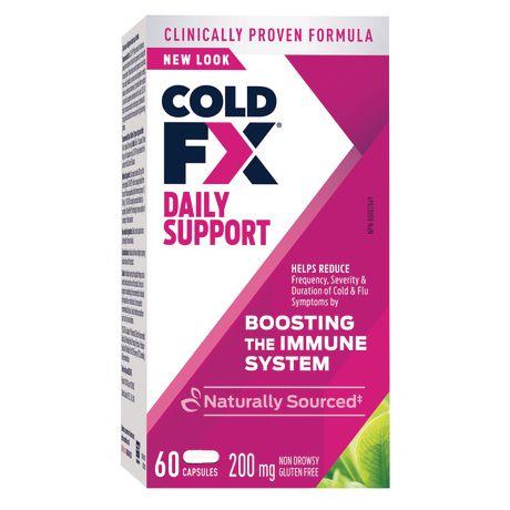 Capsules soutien quotidien de COLD-FX renforçant le système immunitaire 200 mg - image 1 de 1
