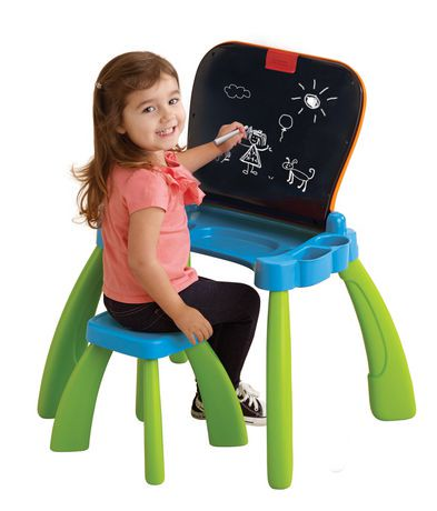 Vtech magi bureau interactif 3 en 1 version anglais for Bureau interactif 3 en 1