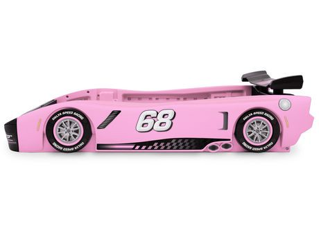 turbo race car twin bed pink walmart canada. Black Bedroom Furniture Sets. Home Design Ideas
