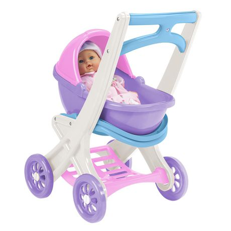 American Plastic Toys Doll Stroller - image 1 of 4