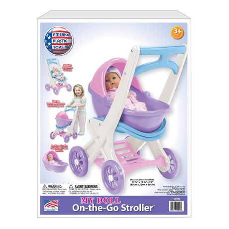 American Plastic Toys Doll Stroller - image 2 of 4