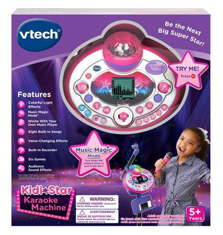 VTech® Kidi Star Karaoke Machine™ - Purple - English Version - image 4 of 7