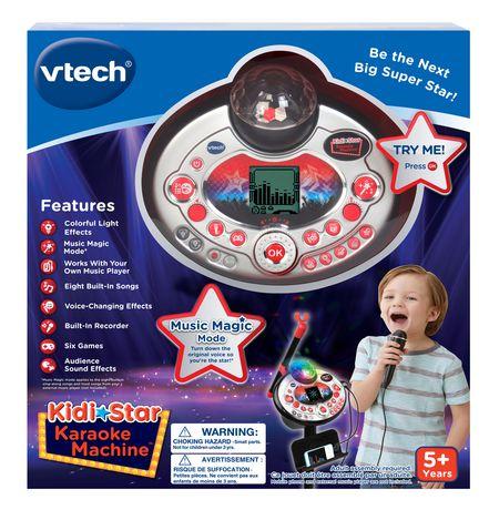 VTech Kidi Superstar Lightshow - Noir - Version anglaise - image 4 de 7