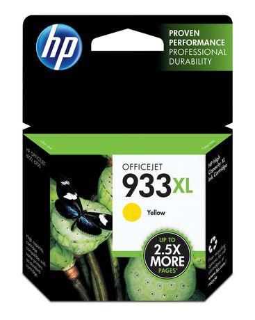 HP 933XL Cartouche d'encre jaune à rendement élevé d'origine (CN056AN) - image 1 de 1