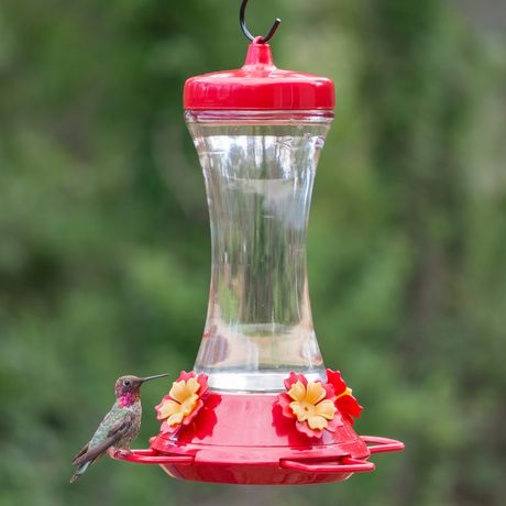 Perky-Pet Adjustable Perch Glass Hummingbird Feeder - image 2 of 9