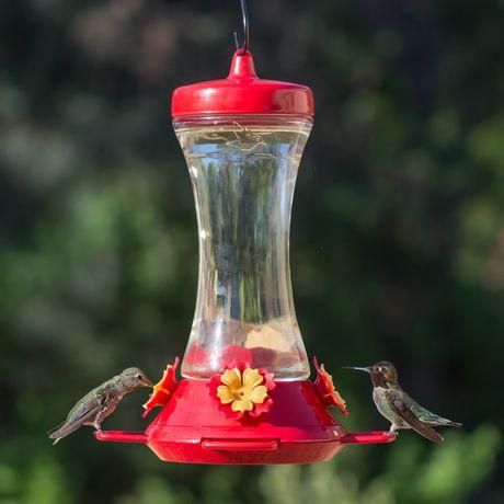 Perky-Pet Adjustable Perch Glass Hummingbird Feeder - image 3 of 9