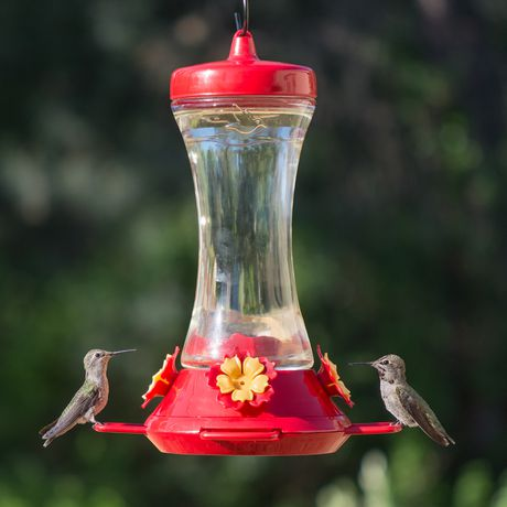 Perky-Pet Adjustable Perch Glass Hummingbird Feeder - image 5 of 9