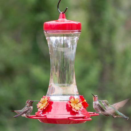Perky-Pet Adjustable Perch Glass Hummingbird Feeder - image 6 of 9