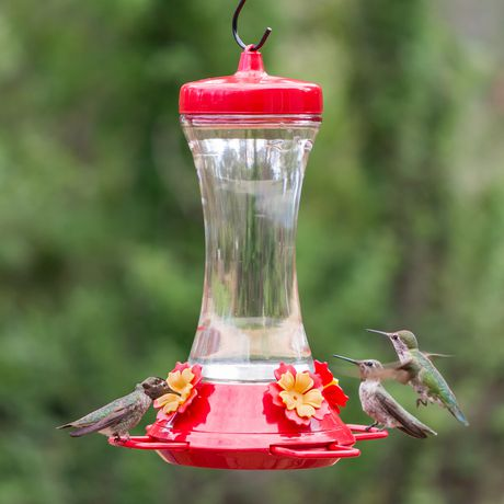 Perky-Pet Adjustable Perch Glass Hummingbird Feeder - image 7 of 9