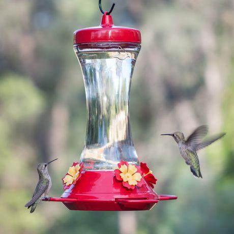 Perky-Pet Adjustable Perch Glass Hummingbird Feeder - image 8 of 9