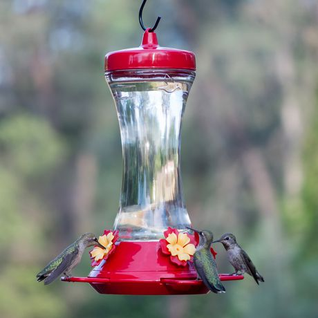 Perky-Pet Adjustable Perch Glass Hummingbird Feeder - image 9 of 9