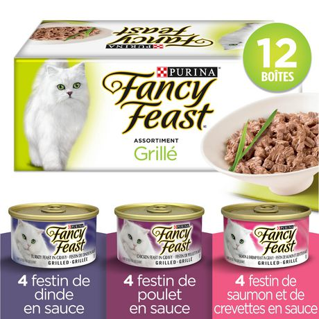 Fancy Feast Wet Cat Food, Grilled in Gravy Variety Pack - image 2 of 5