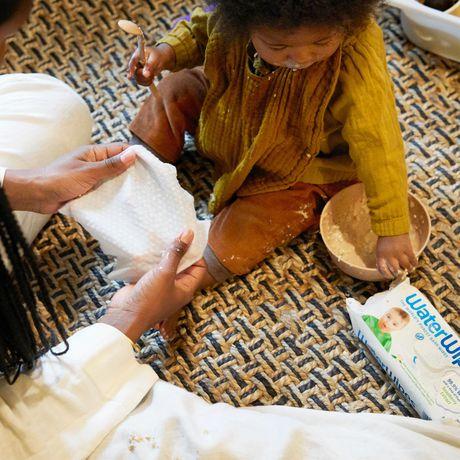 Lingettes sensibles WaterWipes pour bébés - image 6 de 9