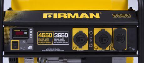 Firman P03602 - 4450/3550 Watt Gas Powered Portable Generator - image 5 of 7