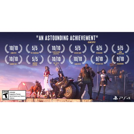 Final Fantasy VII Remake Standard Edition (PS4). - image 3 of 9