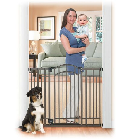 Summer Infant Deco Bronze Extra Tall Walk Thru Gate