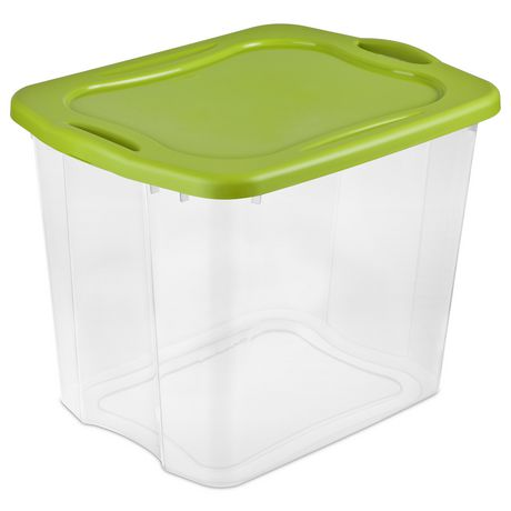 Sterilite 90L Spicy Lime Easy Carry Storage Box - image 1 of 2