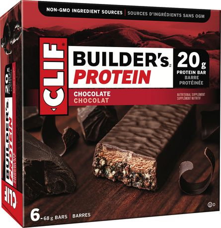 Clif Builder's Protein Chocolate Bars - image 1 of 2