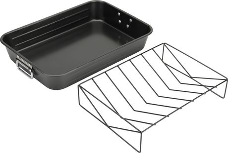 Goodcook Nonstick Roast with rack 11.75 x  17.5inch - image 1 of 1