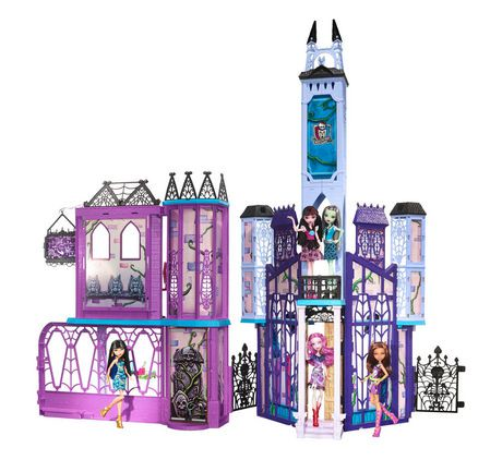 coffret de jeu monster high cole secondaire. Black Bedroom Furniture Sets. Home Design Ideas