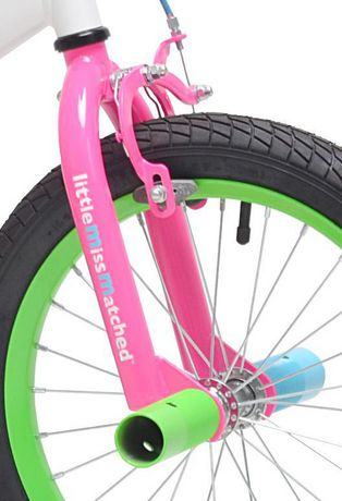 """Little Miss Matched 16"""" Girls Steel Bike - image 2 of 5"""