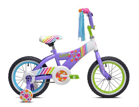 "Little Miss Matched 14"" Girls Steel Bike - image 1 of 6"