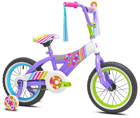 "Little Miss Matched 14"" Girls Steel Bike - image 2 of 6"