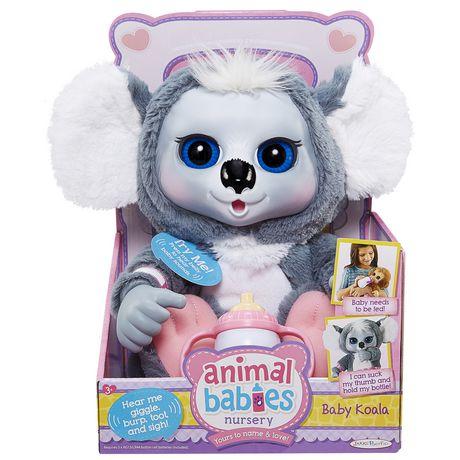 Animal Babies Nursery Deluxe Plush Baby Koala Walmart Canada