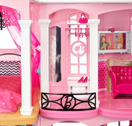 coffret de jeu mattel maison de r ve de barbie. Black Bedroom Furniture Sets. Home Design Ideas