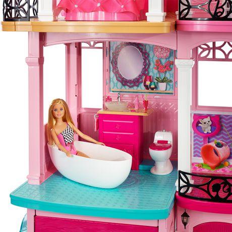 Coffret de jeu mattel maison de r ve de barbie - Maison de reve barbie ...