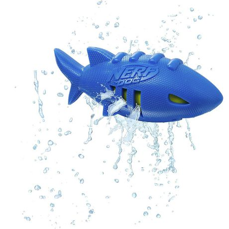 Ballon de football Super Soaker Nerf Dog en forme de requin - image 3 de 3