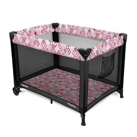 Play & Go Deluxe Playard - Pink Mosaic - image 3 of 7