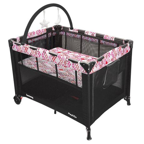Play & Go Deluxe Playard - Pink Mosaic - image 1 of 7