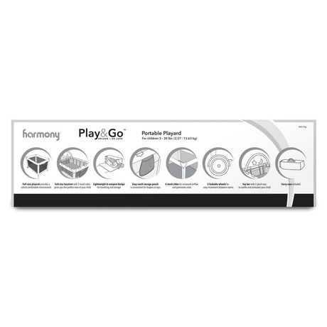 Play & Go Deluxe Playard - Pink Mosaic - image 6 of 7